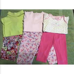 Fall Winter lot of infant girls 6-9 month cloths